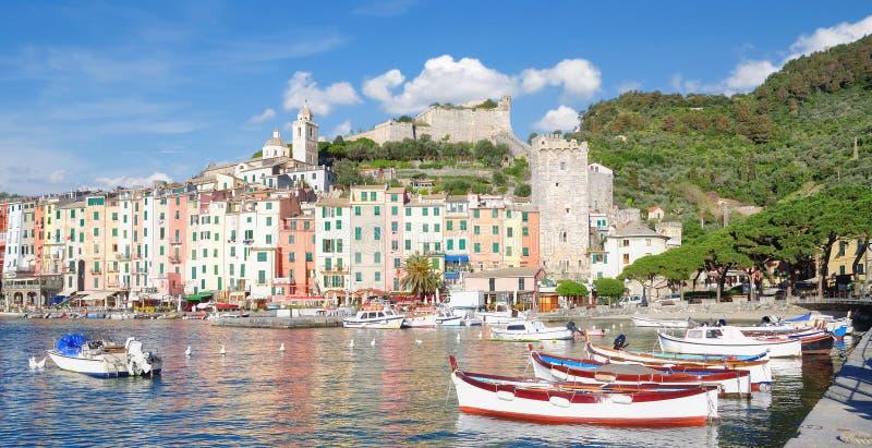 Porto Venere, la Riviera italienne, Ligurie, Italie images libres de droits