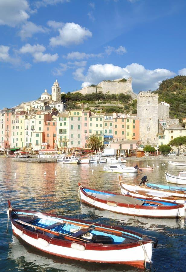 Porto Venere, la Riviera italienne, Ligurie, Italie photographie stock libre de droits