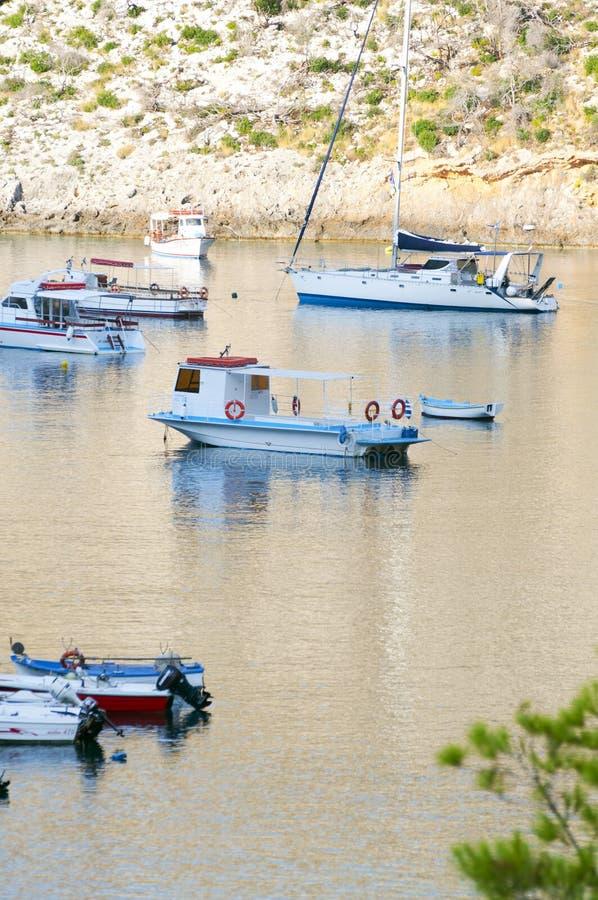 Porto vromihaven royalty-vrije stock fotografie