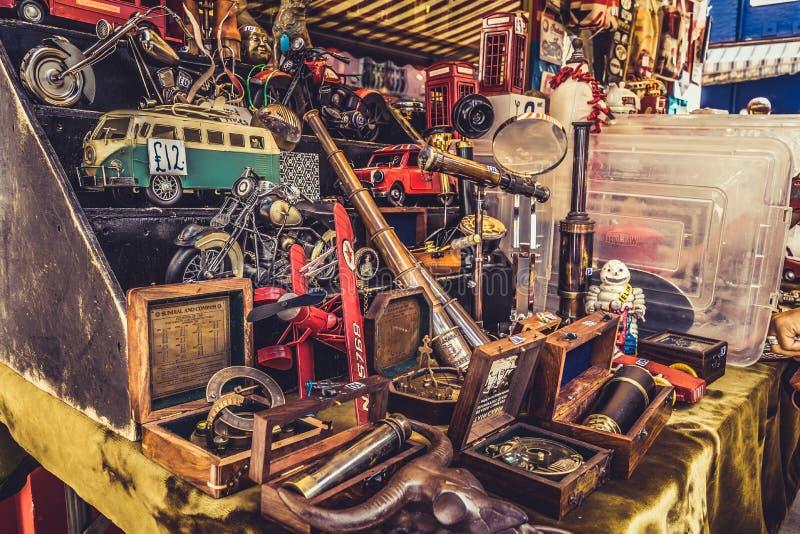 Portobello rynek w Notting wzgórzu, Londyn, Anglia, UK obrazy royalty free