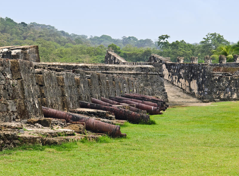 Download Portobelo Fortress, Panama stock image. Image of fortress - 13236769