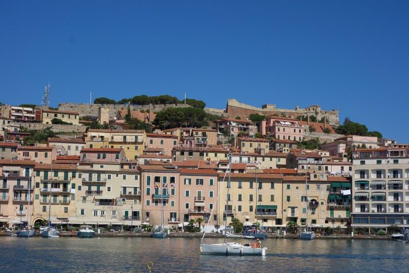 Portoferraio in Elba Island immagine stock