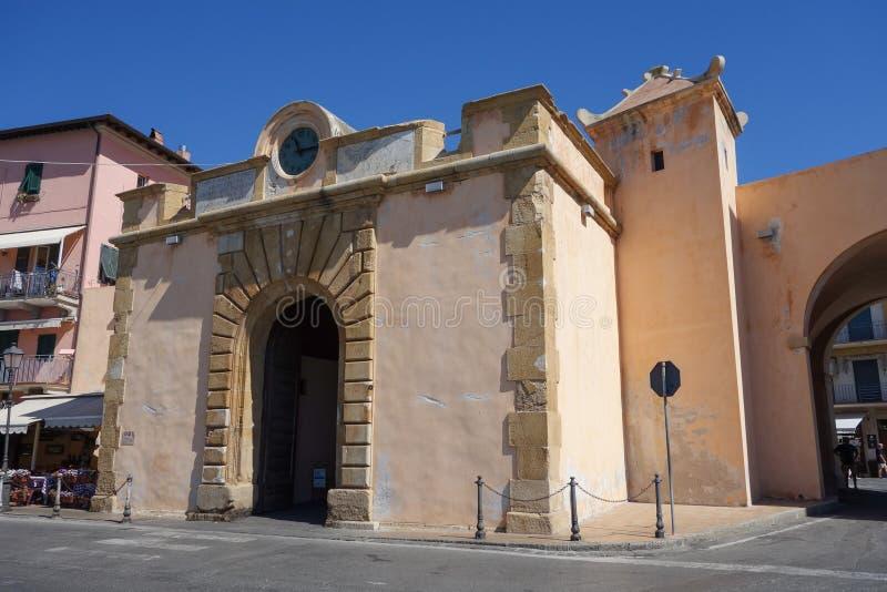 Portoferraio in Elba Island fotografia stock
