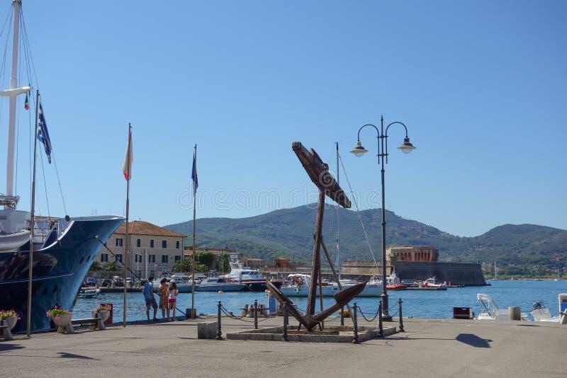 Portoferraio in Elba Island fotografie stock