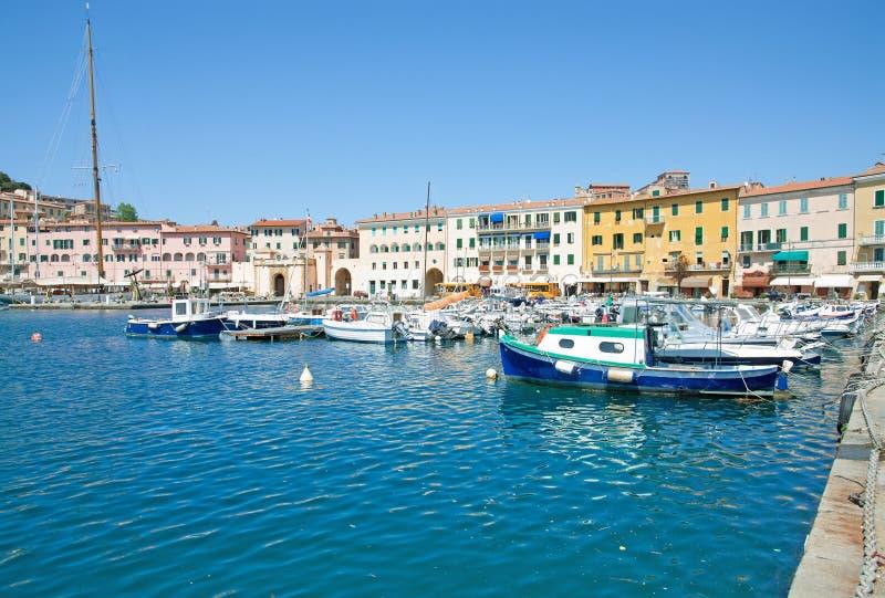 Portoferraio, Elba Island, Italia imagen de archivo