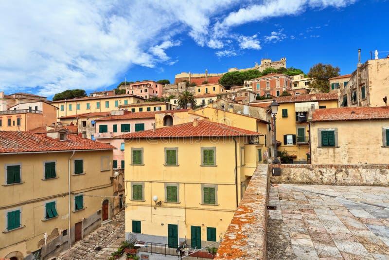 Portoferraio - Insel von Elba lizenzfreie stockbilder