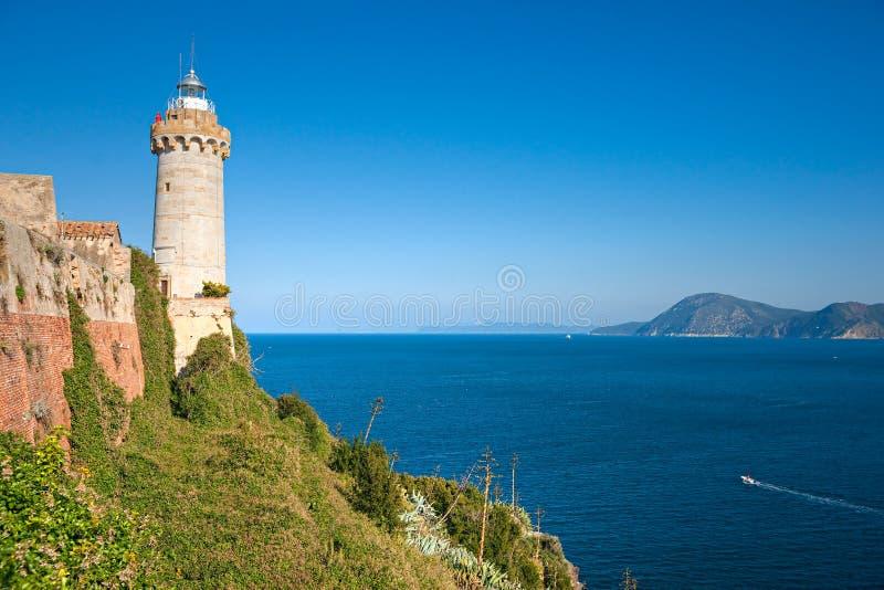 Portoferraio, Insel von Elba, Italien. stockfotos