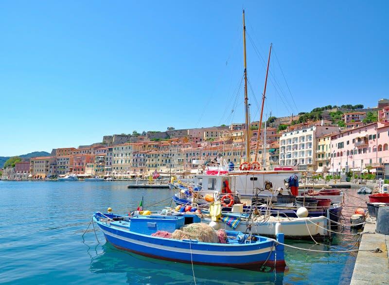 Portoferraio, Insel von Elba, Toskana, Italien lizenzfreies stockfoto