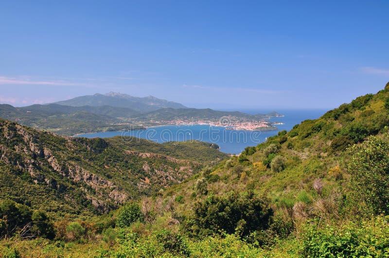 Portoferraio, isla de Elba fotografía de archivo libre de regalías
