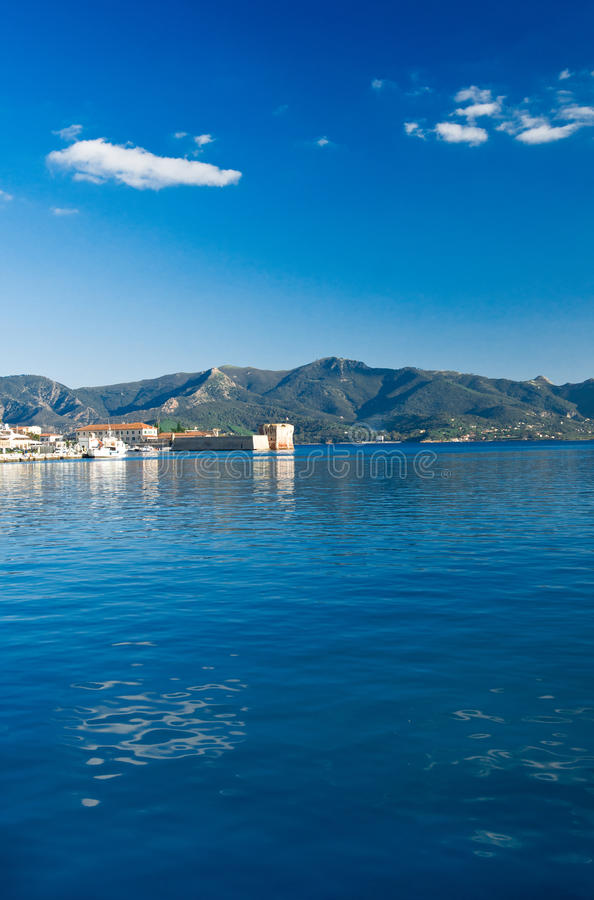 Portoferraio Isle av Elba, Tuscany royaltyfri foto
