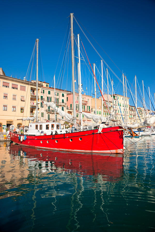 Portoferraio, Isle of Elba, Italy. royalty free stock image