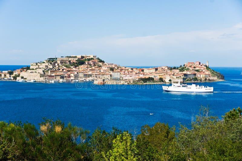 Portoferraio, Isle of Elba, Italy. royalty free stock photography