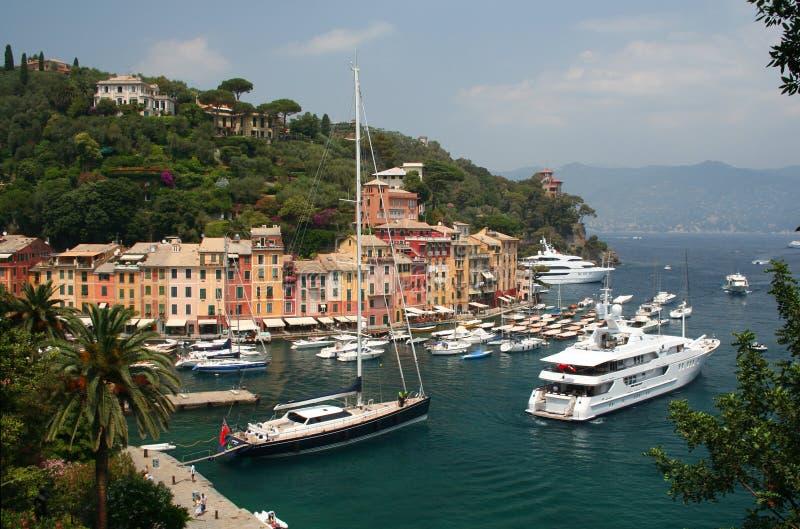 portofino της Ιταλίας στοκ φωτογραφίες με δικαίωμα ελεύθερης χρήσης