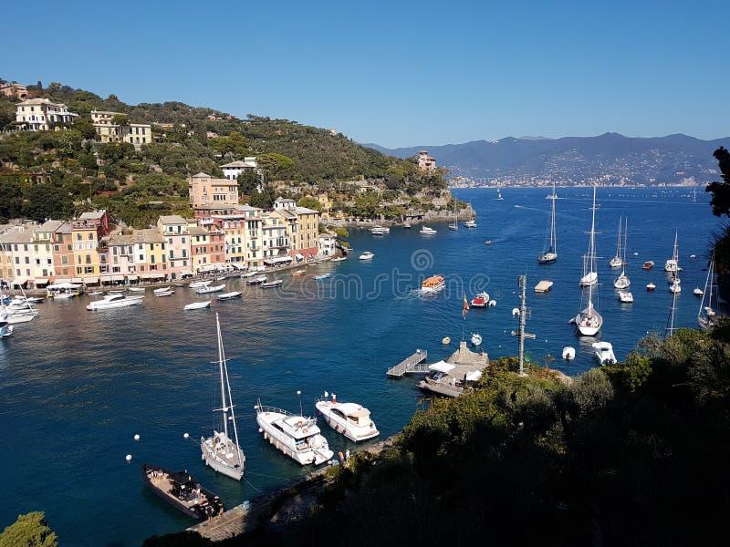 Portofino obraz royalty free
