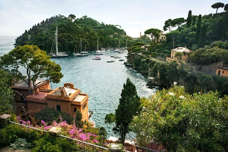 Portofino arkivbilder