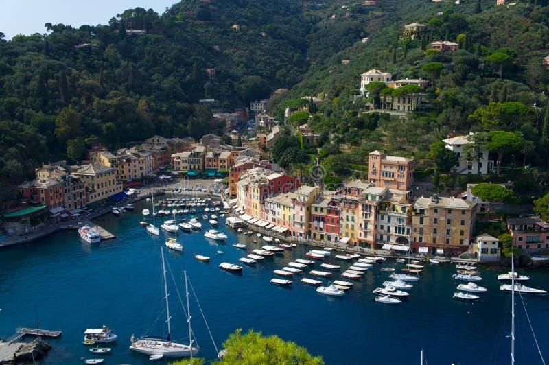 Portofino stock afbeelding