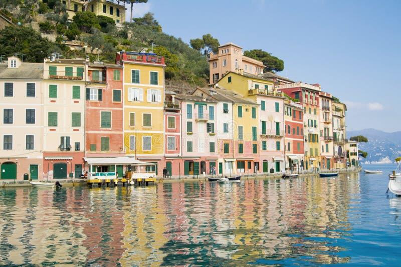 Portofino Italië royalty-vrije stock afbeeldingen