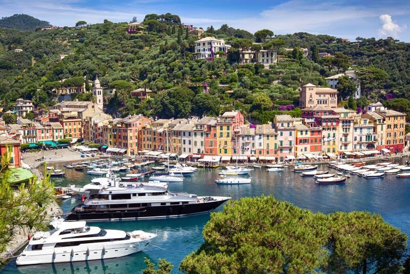Portofino Italia immagini stock libere da diritti