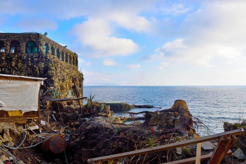 Portofino Italia de Paraggi fotos de archivo