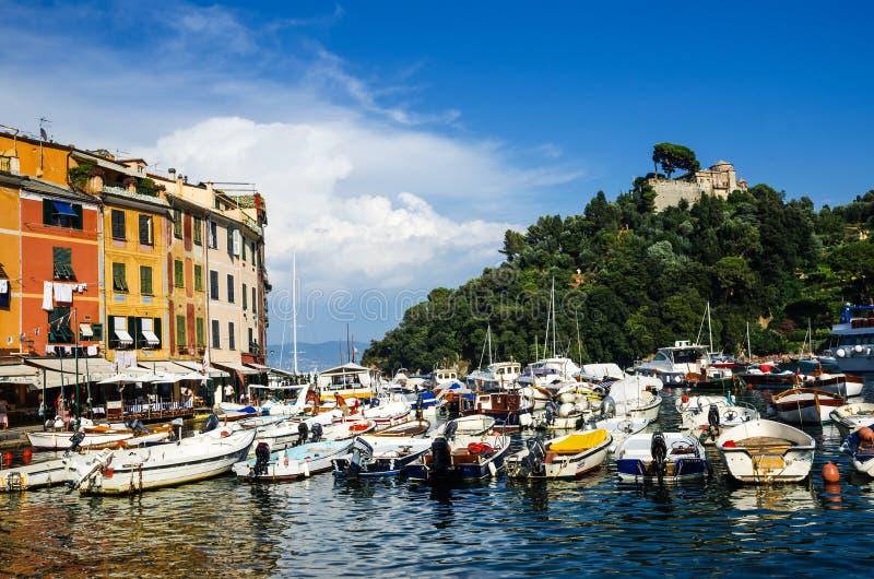 Portofino, italiano Riviera, Italia fotografia stock