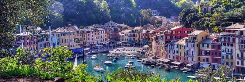 Portofino Italien royaltyfria foton