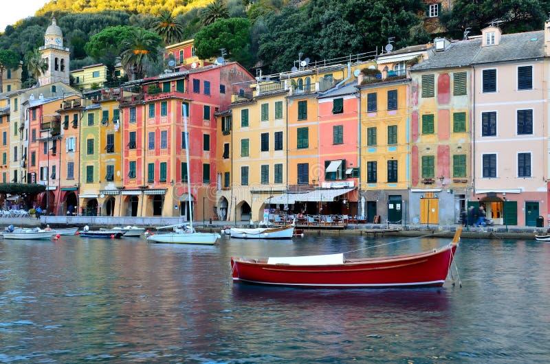 Download Portofino, Italy stock photo. Image of port, church, buildings - 22683202