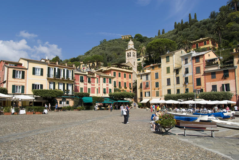 Download Portofino, Italy editorial photography. Image of international - 26735337