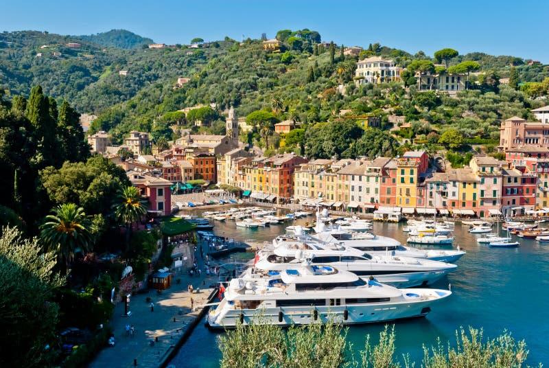 Portofino, Liguria, Italia imágenes de archivo libres de regalías