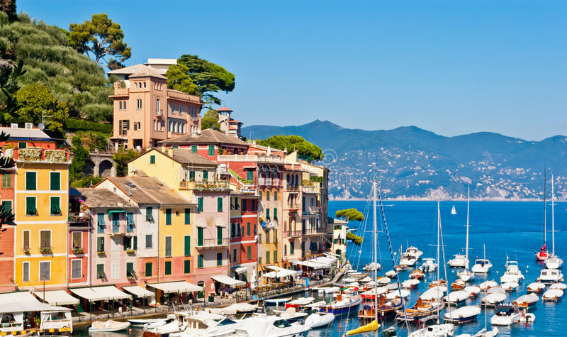 Portofino, Liguria, Italia fotografie stock