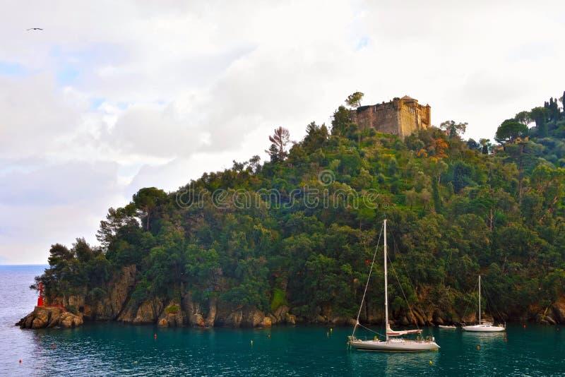 Portofino Liguria Italia imagen de archivo libre de regalías