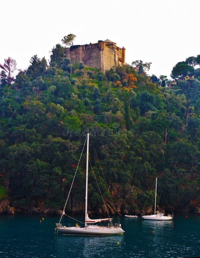 Portofino Liguria Italia fotos de archivo
