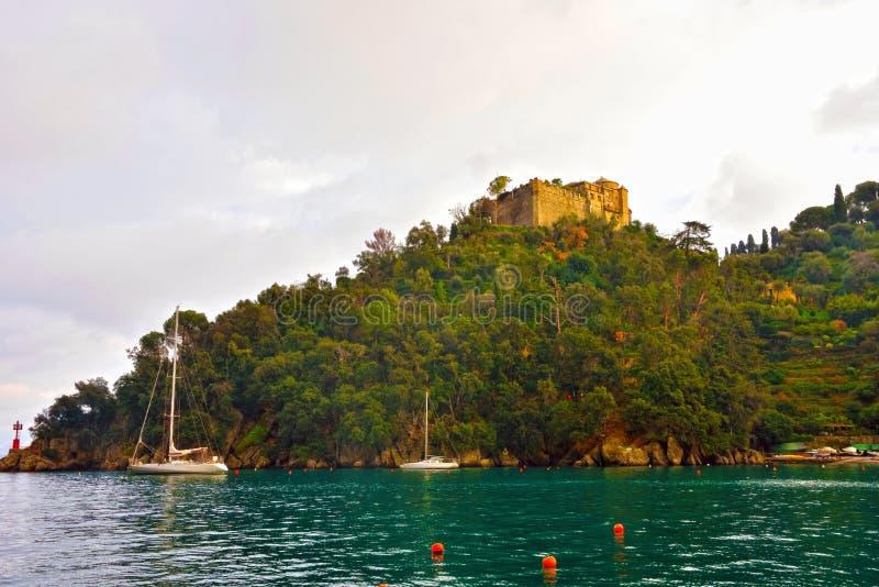 Portofino Liguria Italia fotografía de archivo libre de regalías