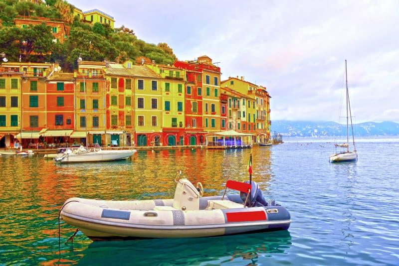 Portofino Liguria Italia imágenes de archivo libres de regalías