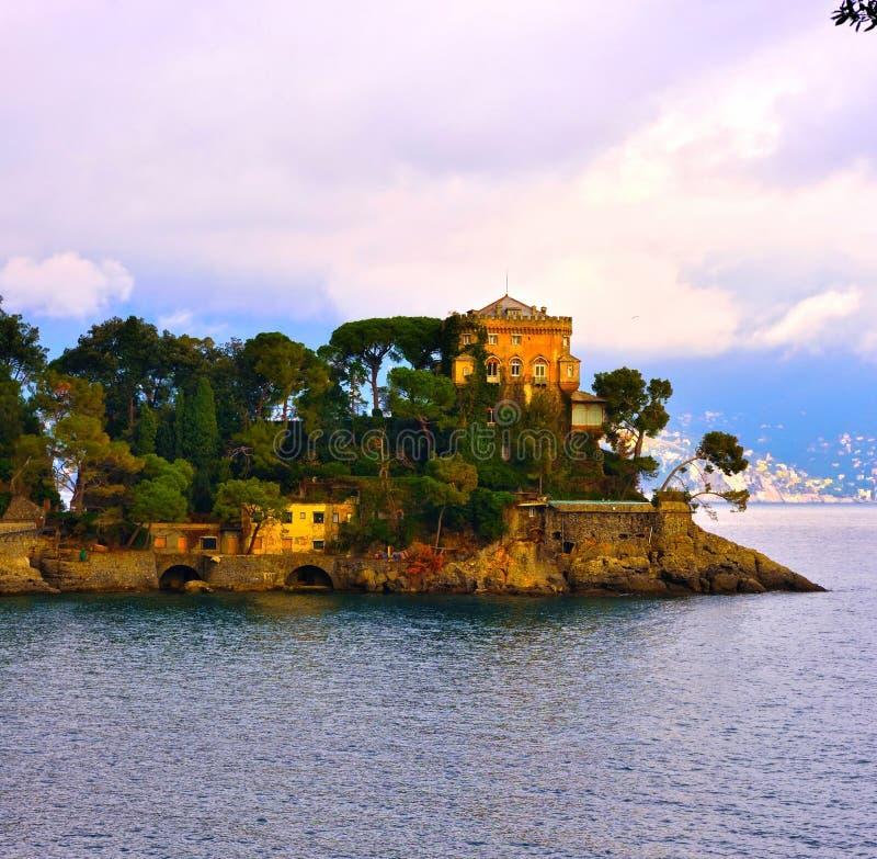 Portofino Liguria Italia foto de archivo