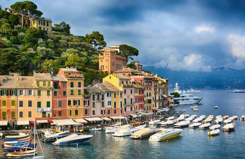 Portofino, Liguria, Italy. Beautiful view stock photo