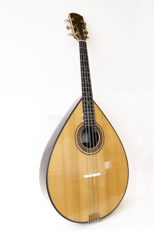 Portoghese del mandolino fotografie stock libere da diritti