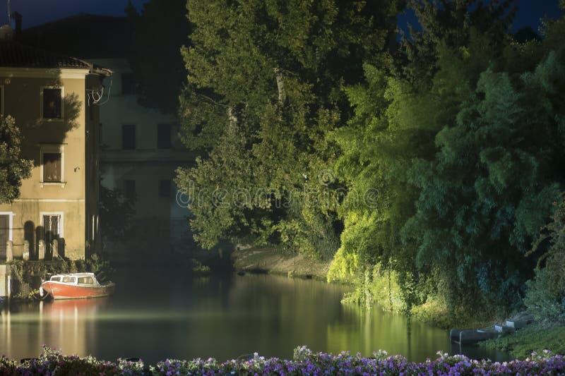 Portogruaro-Fluss lizenzfreies stockfoto