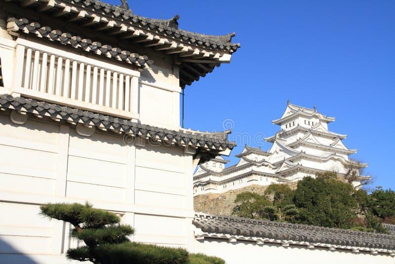 Portone del castello del castello di Himeji a Himeji fotografia stock