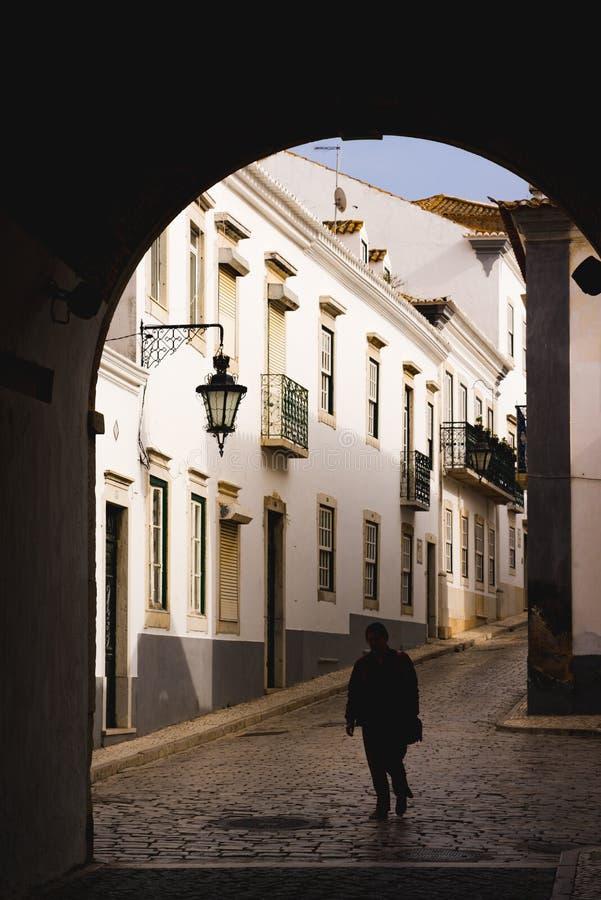 Portone dell'arco di Portuges fotografia stock