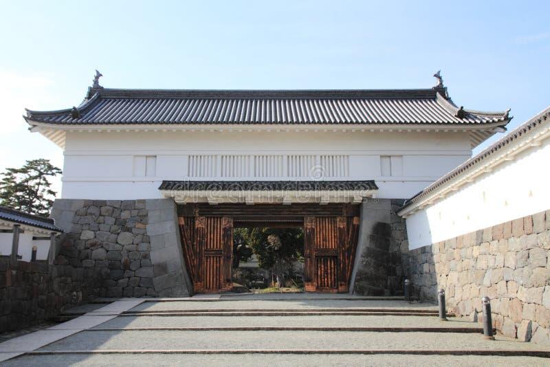 Portone di Akagane del castello di Odawara in Kanagawa fotografia stock
