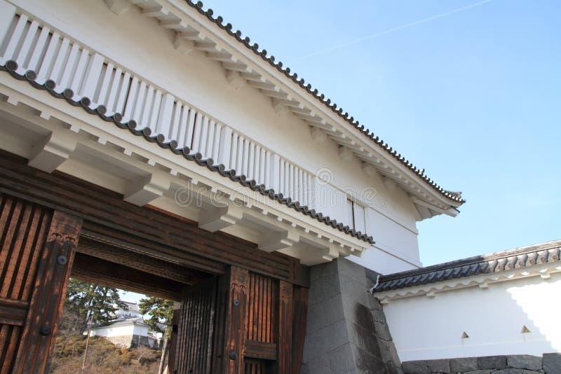 Portone di Akagane del castello di Odawara in Kanagawa immagini stock libere da diritti