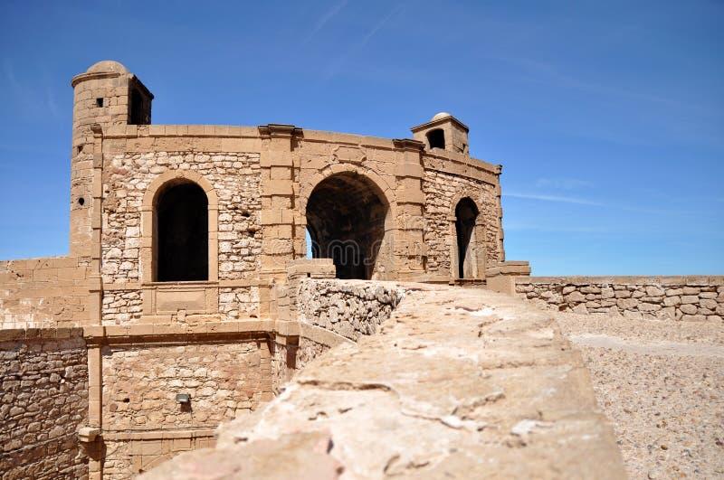 Portone di Bab Ljhad in Essaouira fotografia stock libera da diritti