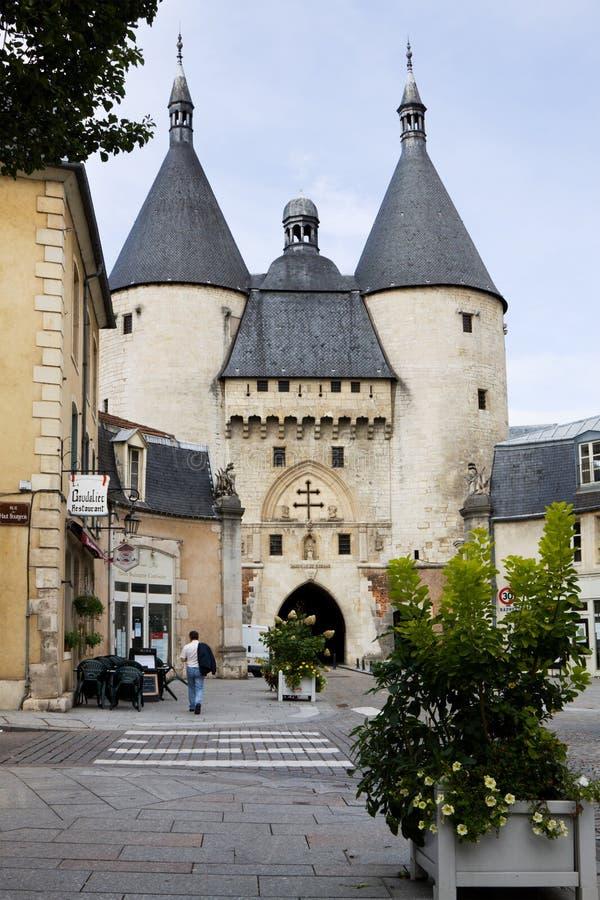 Portone di Craffe a Nancy, Francia fotografie stock libere da diritti
