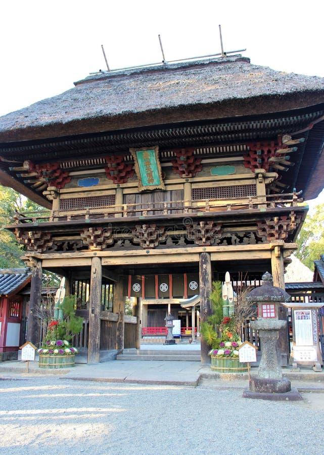 Portone di lunedì del  di RÅ di Aoi Aso Shrine fotografia stock