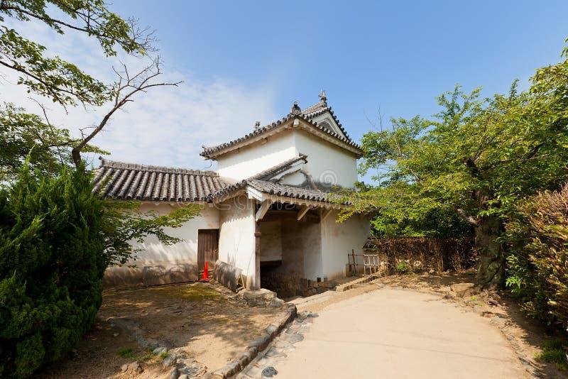 Portone di Ninomon del castello di Himeji, Giappone Sito dell'Unesco immagini stock