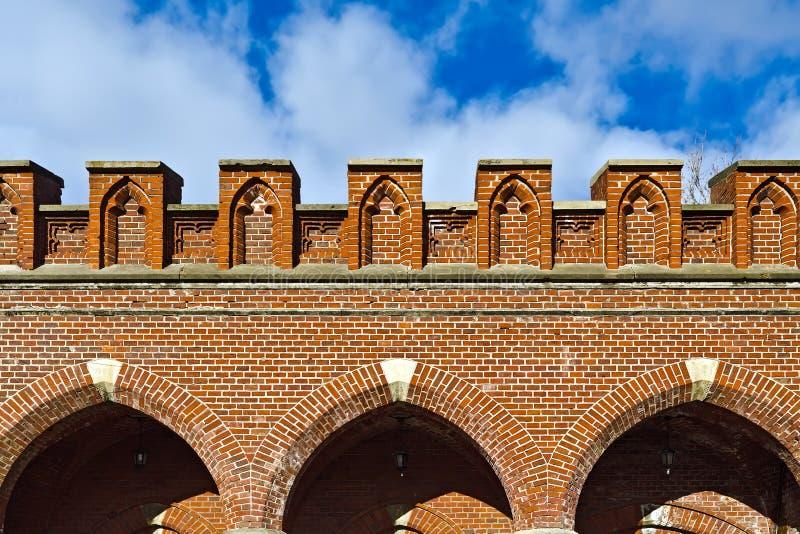 Portone di Rossgarten - fortificazione di Koenigsberg immagine stock libera da diritti