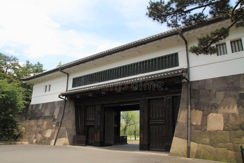 Portone di Sakurada del castello di Edo fotografia stock