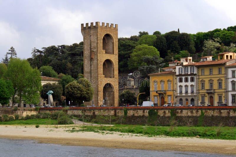Portone di San Nicola, Firenze fotografia stock