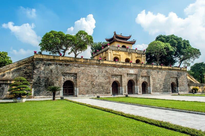 Portone lungo della cittadella di Thang immagine stock