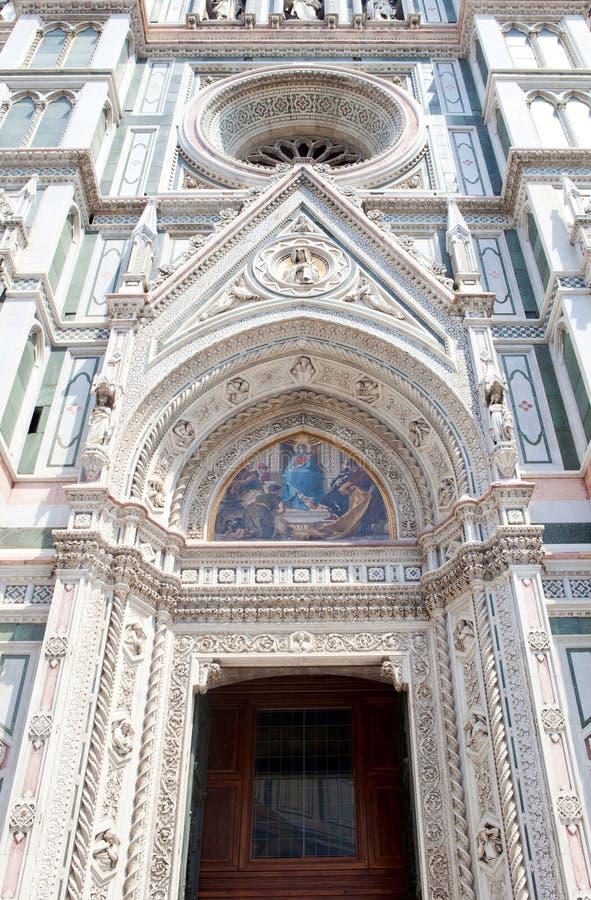 Portoni della cattedrale di Firenze fotografie stock libere da diritti